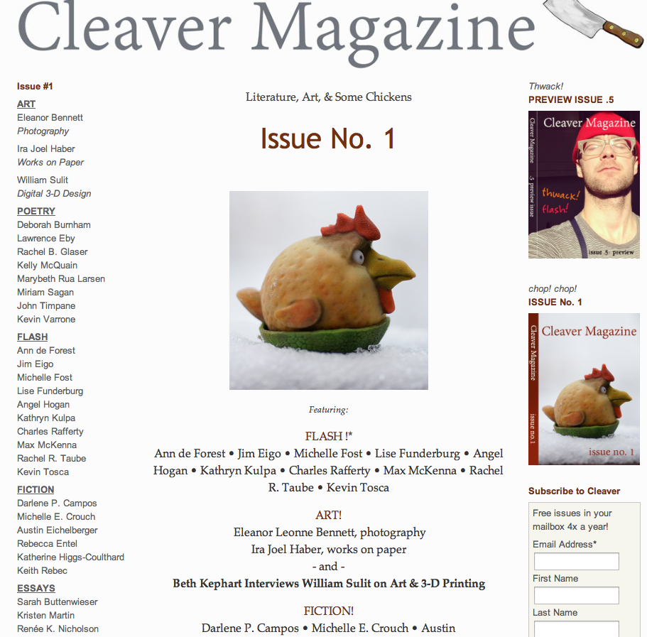 Cleaver Magazine